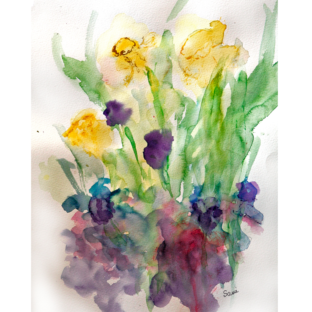 Signs of Spring & New Paintings